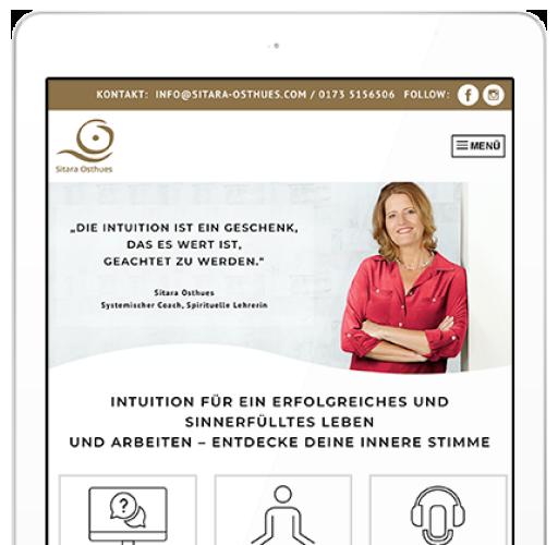 Relaunch Website Systemischer Coach
