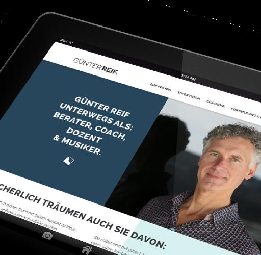 Relaunch Website Berater & Coach